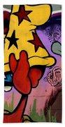 Graffiti 11 Beach Towel