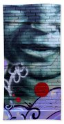 Graffiti 18 Beach Towel