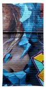 Graffiti 19 Beach Towel