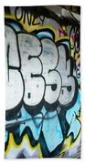 Graffiti 4 Beach Towel