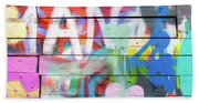Graffiti 4 Beach Sheet