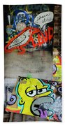Graffiti 5 Beach Towel