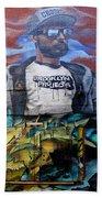 Graffiti 6 Beach Towel