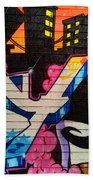 Graffiti 9 Beach Towel