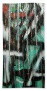 Graffiti Abstract 1 Beach Towel