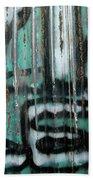Graffiti Abstract 2 Beach Towel