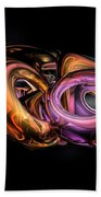 Graffiti Abstract Beach Towel