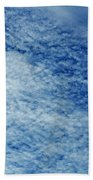Grainy Sky Beach Towel
