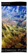 Grand Canyon Aerial View Beach Towel