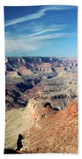 Grand Canyon Evening Light Beach Towel