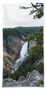 Grand Canyon In Wyoming Beach Towel
