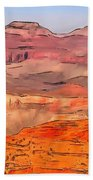 Grand Canyon National Park Summer Beach Towel