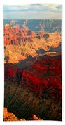 Grand Canyon National Park Sunset On North Rim Beach Towel