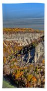 Grand Canyon Of The East Beach Towel