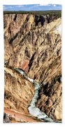 Grand Canyon Of The Yellowstone 1 Beach Towel