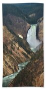 Grand Canyon Of The Yellowstone Beach Towel