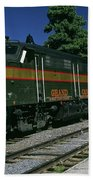 Grand Canyon Railway Train Beach Towel