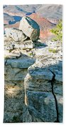 Grand Canyon Rock Formations, Arizona Beach Towel