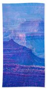 Grand Canyon Sunny Day With Blue Sky Beach Towel