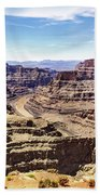 Grand Canyon West Rim Beach Towel