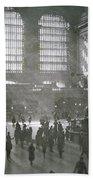 Grand Central Station, New York City, 1925 Beach Towel