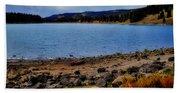 Grand Mesa Lake Beach Towel