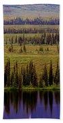 Grand Mountain Reflections Beach Towel
