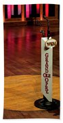Grand Ole Opry House Stage Flooring - Nashville, Tennessee Beach Towel