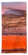 Grand Prismatic Algae Mat Panorama Beach Towel