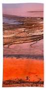 Grand Prismatic Panoramic Abstract Beach Towel