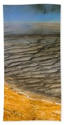 Grand Prismatic Runoff Beach Towel