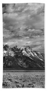 Grand Teton Majesty Beach Towel by Sandra Bronstein