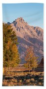 Grand Teton Mountain View Beach Towel