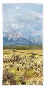 Grand Teton Photograpers Beach Towel