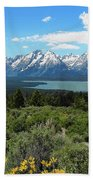 Grand Tetons Beach Towel