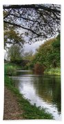 Grand Western Canal At Crown Hill Beach Towel