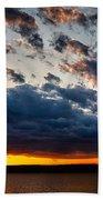 Grandiose Sky On Grand Lake Beach Towel