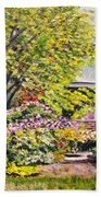 Grandmother's Garden Beach Towel