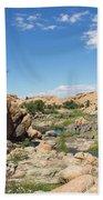 Granite Dells Rocky Terrain  Beach Towel