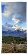 Granite Park - Glacier National Park Beach Towel