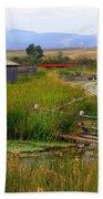 Grant Khors Ranch Deer Lodge  Mt Beach Sheet