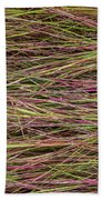 Grassy Abstract Beach Towel