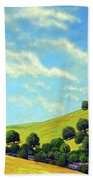 Grassy Hills At Meadow Creek Beach Towel