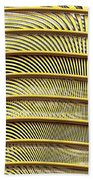 Grate Of Yellow Beach Towel