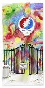 Grateful Dead Concert In Heaven Beach Sheet