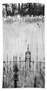 Graveyard 6788 Beach Towel