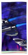 Gravitational Forces Beach Towel by Corey Ford
