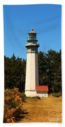 Grays Harbor Light Station Beach Towel