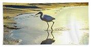 Great Egret Beach Sheet