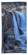 Great Falls Beach Towel